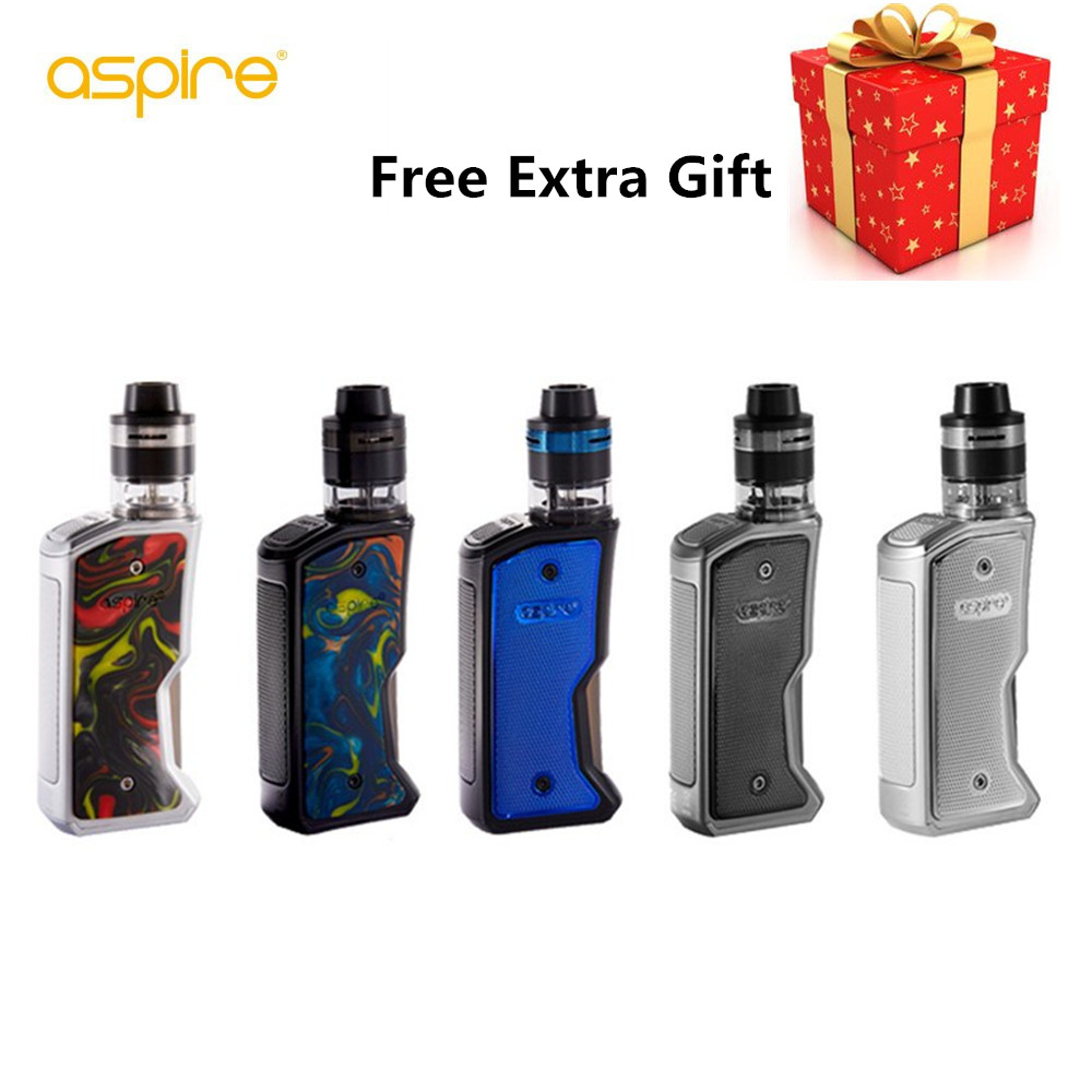 Original Aspire Feedlink Revvo Boost Kit E Cig 80W Squonk Mod 2ml Tank ARC Coil Vape Kit Vaporizer cigarette electronique Kit technogel deluxe 11