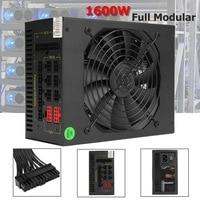 1600W Modular Mining Power Supply GPU For Bitcoin Miner Eth Rig S7 S9 L3 D3 High