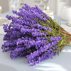 1 Bunch Lavender Foam Flowers Artificial Flower For Wedding Home Office Decor Multicolor Optional For Home Wedding Decoration