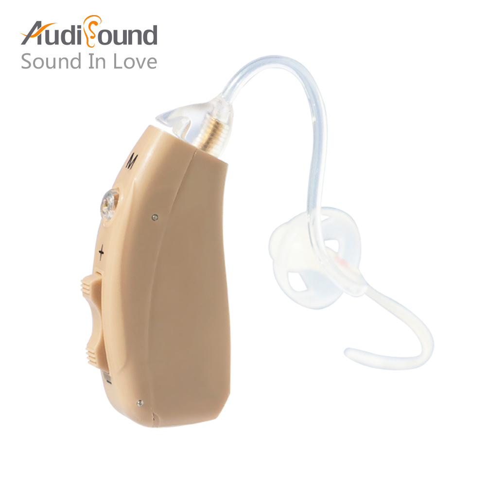 Rechargeable Ear Hearing Aid Digital Hearing Aids For the Elderly Behind Ear Care Pocket Deaf-Aid Old Man Deaf Audiphones new rechargeable ear hearing aid mini device ear amplifier digital hearing aids behind the ear for elderly acustico eu plug