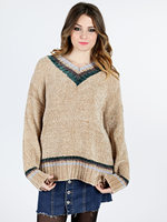 Chenille Sweater with lurex