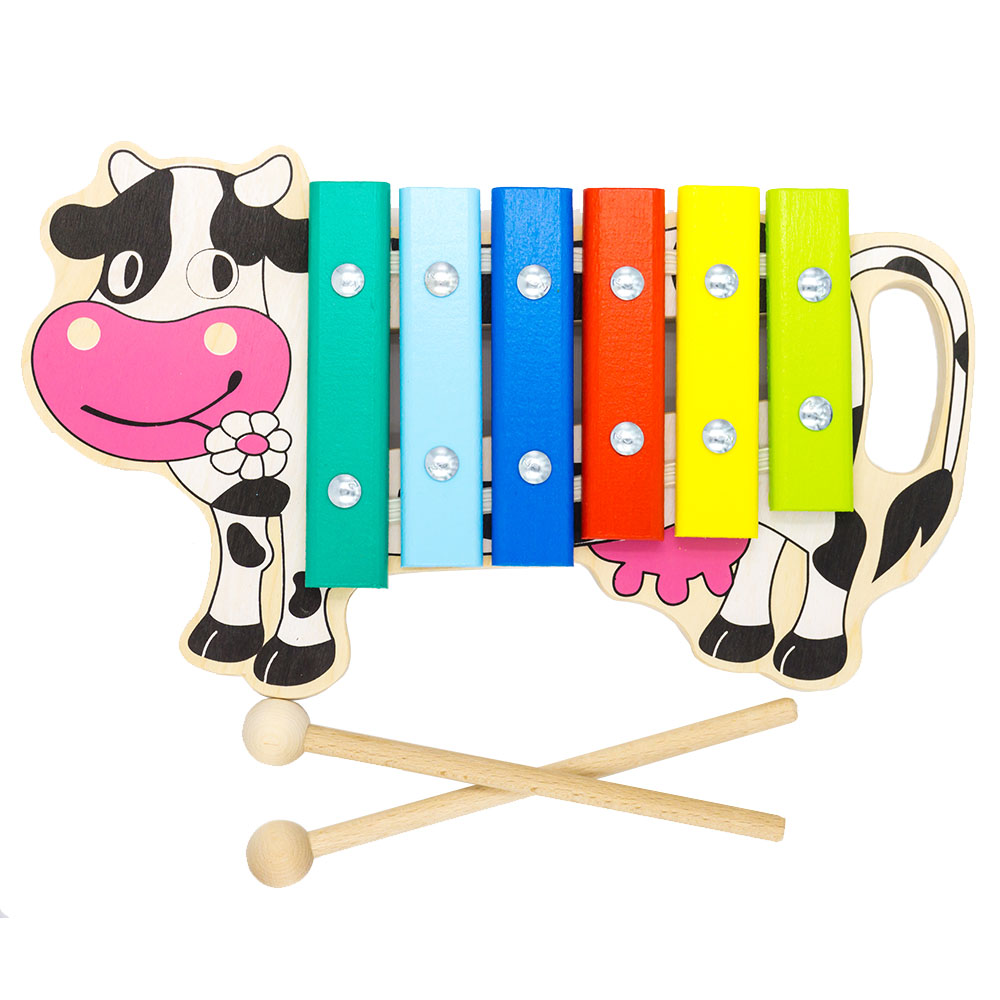 Toy Musical Instrument Alatoys KC0601 play glockenspiel xylophone music toys for boys girls toy musical instrument alatoys kc0704 play glockenspiel xylophone music toys for boys girls