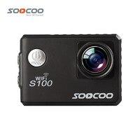 SOOCOO S100 Actie Camera 4 K Wifi Ingebouwde Gyro GPS Extension Gaan Waterdicht Pro Mini Camera 'S Duiken Outdoor Mini Sport DV