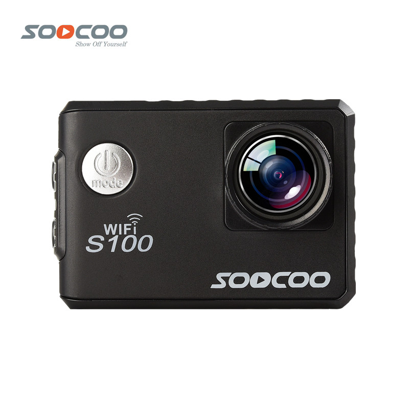 SOOCOO S100 Action Camera 4K Wifi Built-in Gyro GPS Extension Go Waterproof Pro Mini Cameras Diving Outdoor Mini Sports DV soocoo c30 sports action camera wifi 4k gyro 2 0 lcd ntk96660 30m waterproof adjustable viewing angles