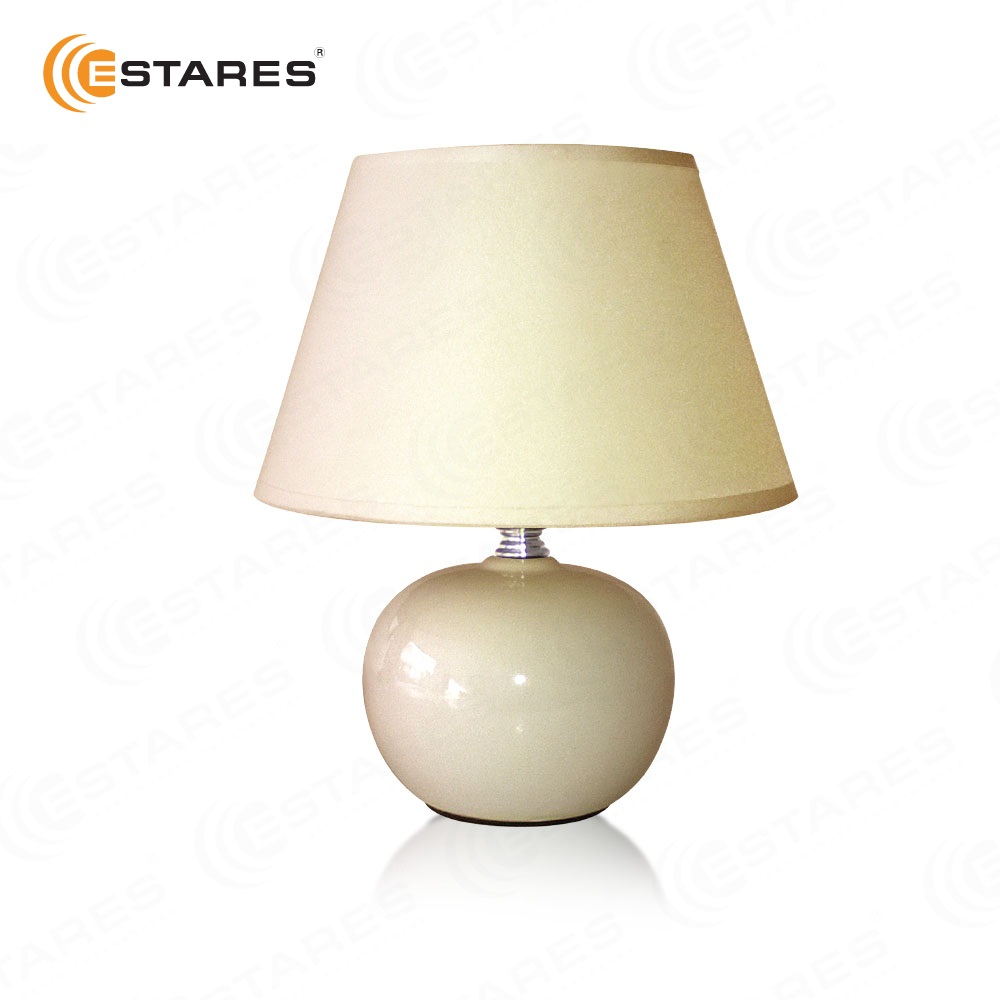 ESTARES Home Table Lamp AT09360 coffee pink white