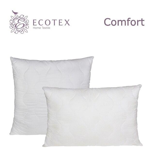 Подушка «Лебяжий пух комфорт», «Ecotex» (Россия).