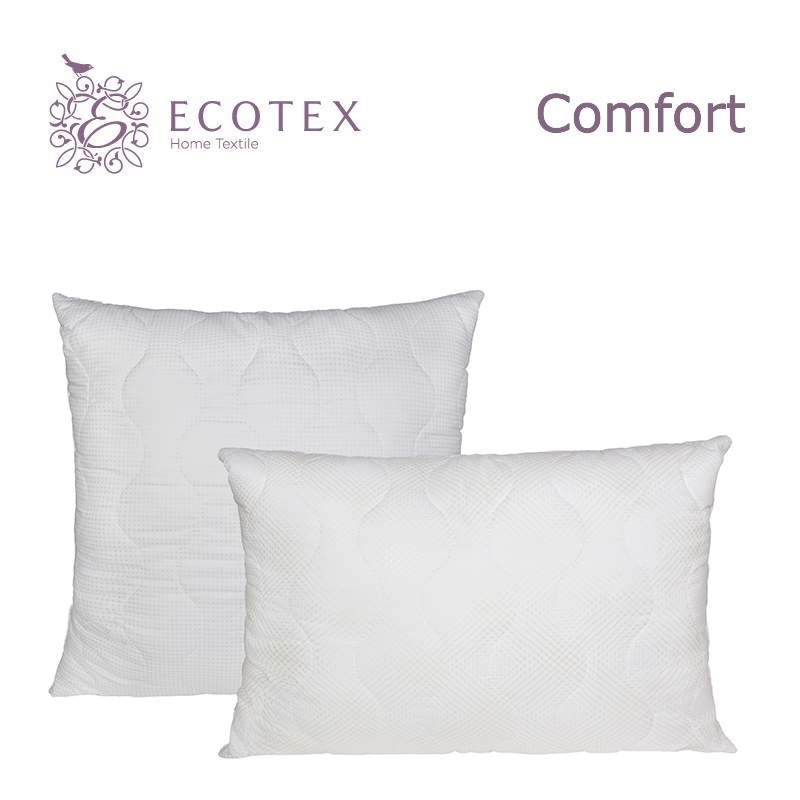 Pillow Swan's down collection Comfort. Production company Ecotex(Russia). pillow fiber collection comfort production company ecotex russia