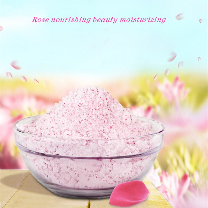 Rose Face Mask Powder 20g Facial Peel Off Mask Powder Anti-aging SPA Whitening Cream Scars Acne Oil-Control Mask For The Face