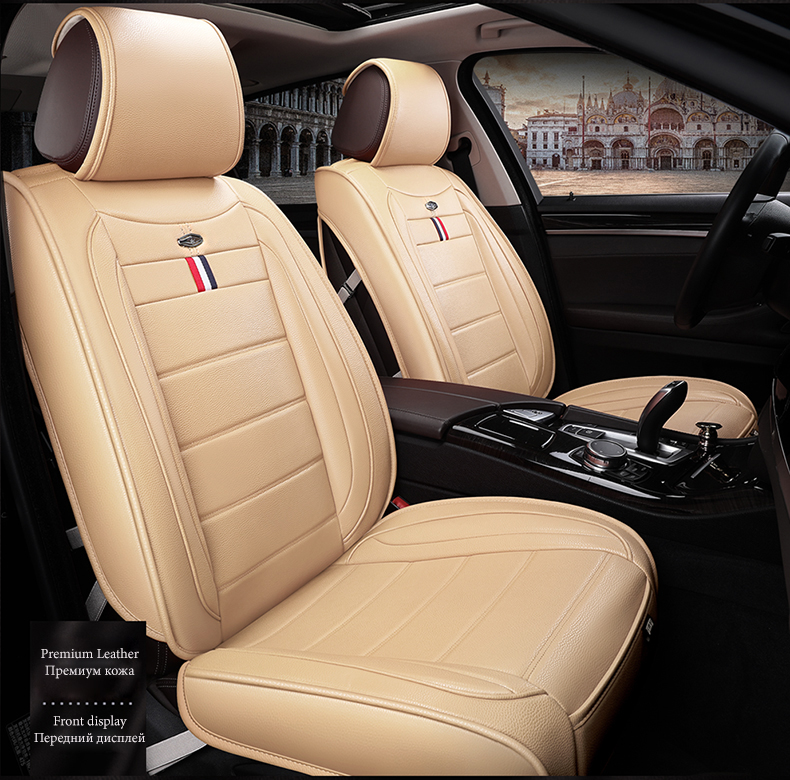 Front Rear Car Seat Cover For Honda City Wr V Brio Clarity Crider