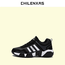 CHILENXAS 2017 Winter Large Size 37-46 Leather Shoes Men Casual Suede PU High Quality Comfy New Fashion Breathable Lace-up Solid