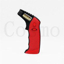 Guevara Novelty Windproof Cigar Lighter Torch 2 Colors Use Butane Gas For Smoking 1118