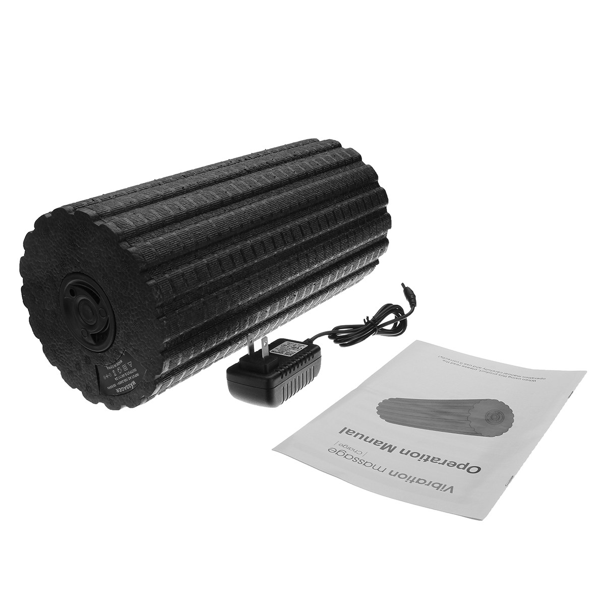 17 31cm Rechargeable Electric Vibrating Massage Foam Roller 4 Speed Muscle Recovery Yoga Pilates Fitness Gym Massage yoga gym exercises fitness pilates epp foam roller