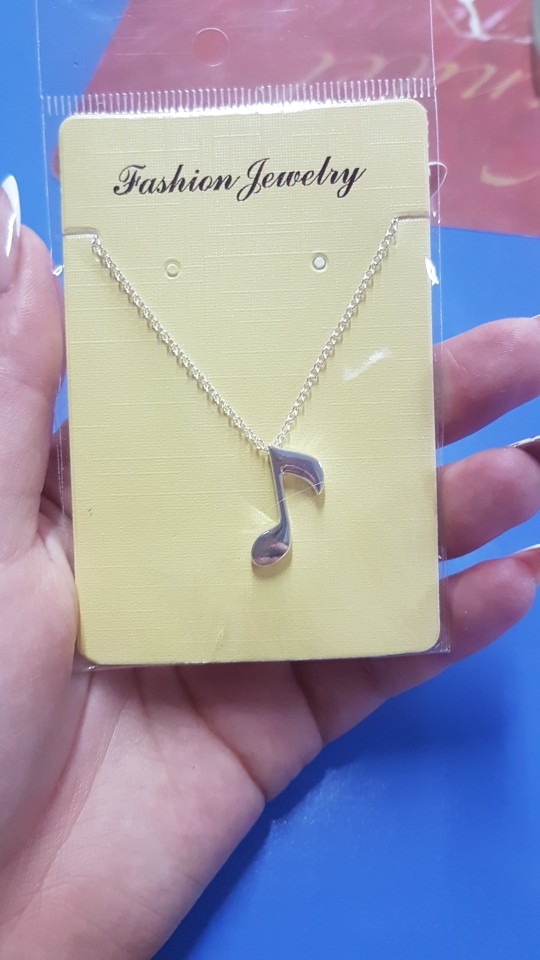 Musical Note Pendant photo review