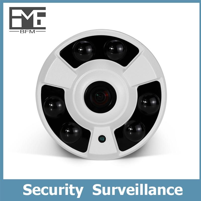 BFMore POE Audio Dome IP Camera 5.0MP  Surveillance Security camaras Wired Cam IR Night Vision CCTV H.265H.264