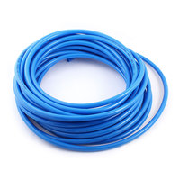 UXCELL 12Mm Od 8Mm Inner Dia Blue Pu Tube Hose Pipe 15M 50Ft For Pneumatics