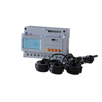 Acrel DTSD1352 CT Three Phase DIN Rail Mounting Energy Meter LCD Display 3 CT Current Under 5A