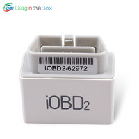 100% Original XTOOL iOBD2 Bluetooth OBD2/EOBD Auto Scanner Code Reader For iPhone/Android Vehicle Diagnostic Tool