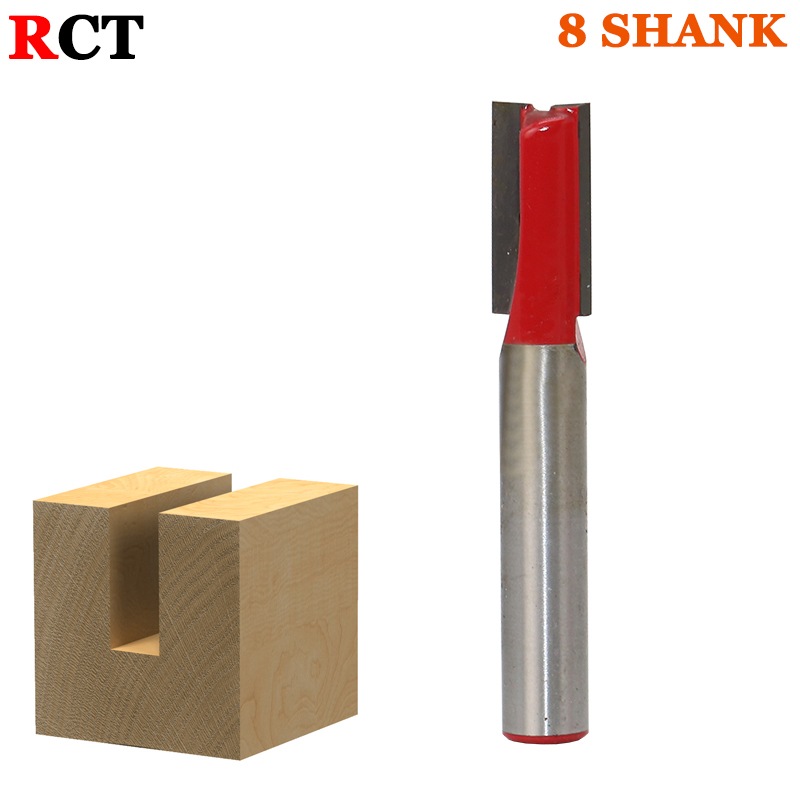 1PC 8mm Shank high quality Straight/Dado Router Bit Set9.52MM Diameter Wood Cutting Tool 1pc 8mm shank high quality straight dado router bit set diameter wood cutting tool