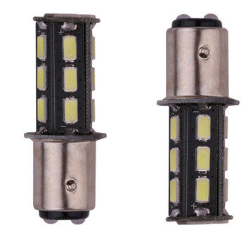 100pcs 1156/1157 Canbus LED Light 5630 18SMD led Styling Lighting LED Turn Signal Light SMD LED Braking Stop Light yellow red