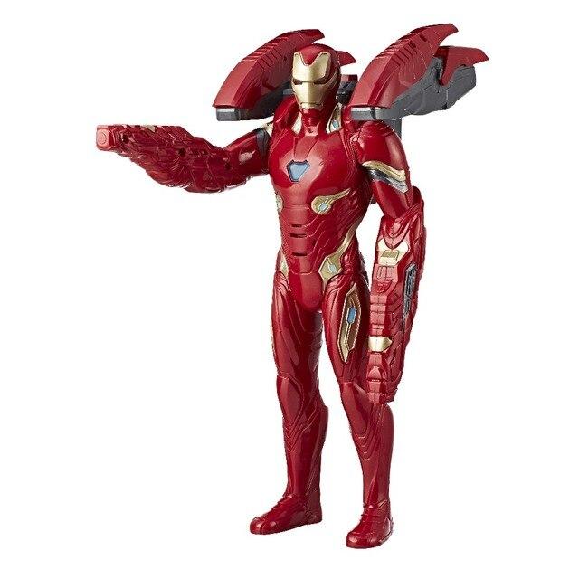 Интерактивная фигурка Hasbro Avengers Мстители Железный человек в усиленной броне