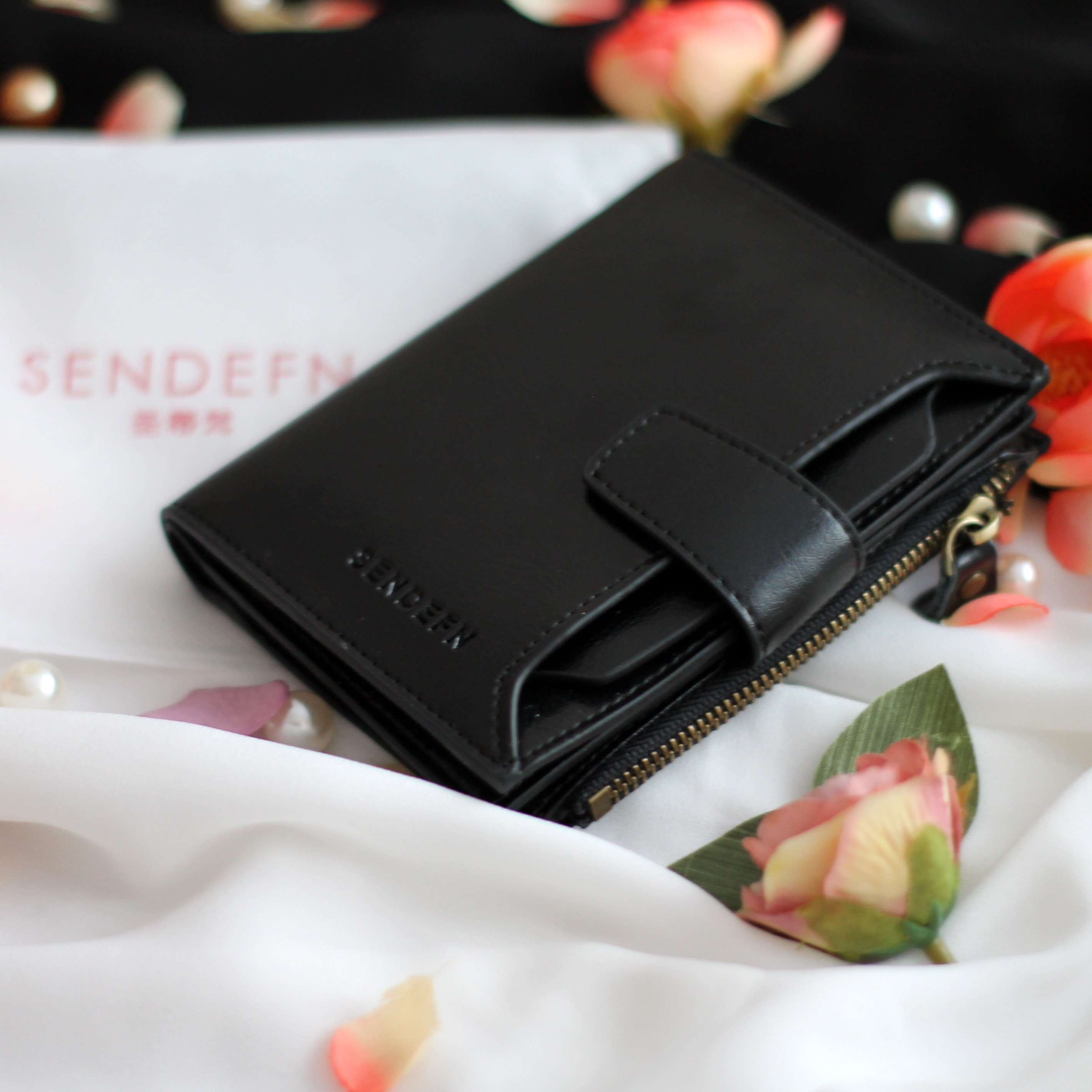 бумажник женщина; Подкладка Материал:: Полиэстер; небольшой бумажник женщин;