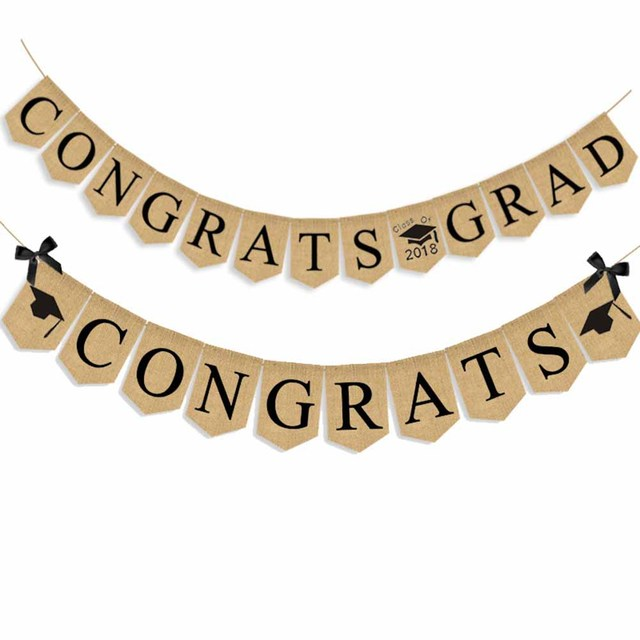 3 5m wall hanging garland bunting graduation party banners