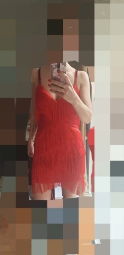 Tassel Dresses Ummer Vestidos Women Celebrity Party Dresses Spaghetti Strap Tassel Fringe Mini Clubwear photo review
