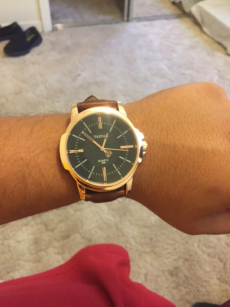 3ad4c26e098 24 reviews for Rose Gold Business Yazole Men s Quartz Watch