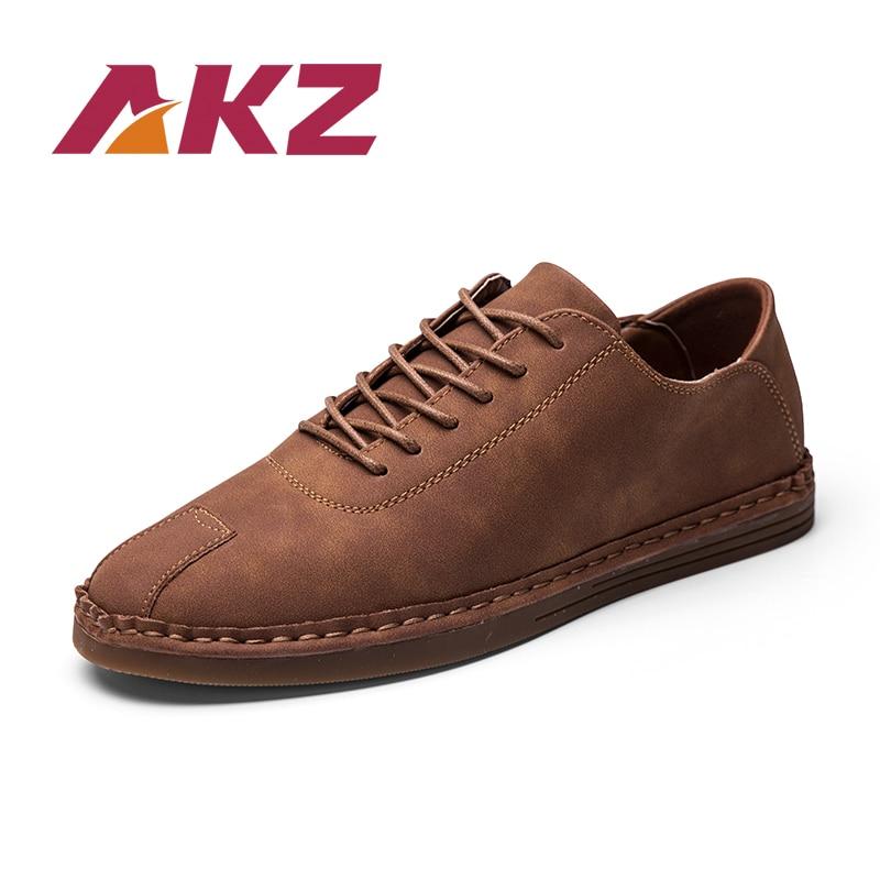 AKZ Brand Casual Shoes Men 2018 Нова літня взуття - Чоловіче взуття