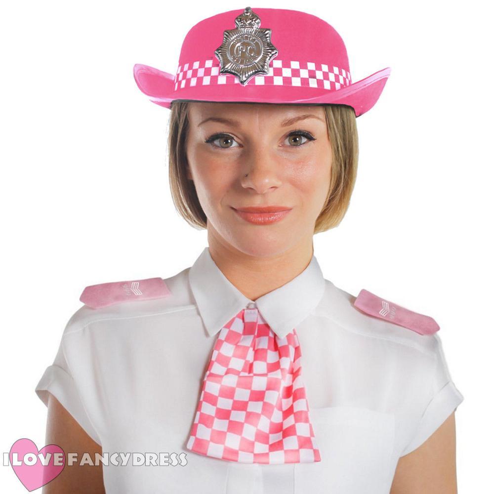 POLICE MEN/'S,POLICE WOMEN/'S LADIES COPPER HAT ADULTS FANCY DRESS COSTUME CAP HAT