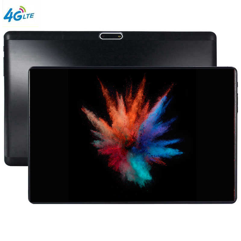 2019 S119 10 Inci Tablet PC Octa Core 4 GB RAM 64 GB ROM Android 9.0 WIFI Bluetooth Dual SIM kartu 3G 4G LTE Tablet 10.1 Tablette