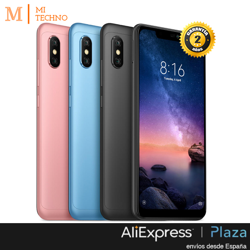 [Mondial Version] Xiaomi Redmi Note 6 Pro 6.26