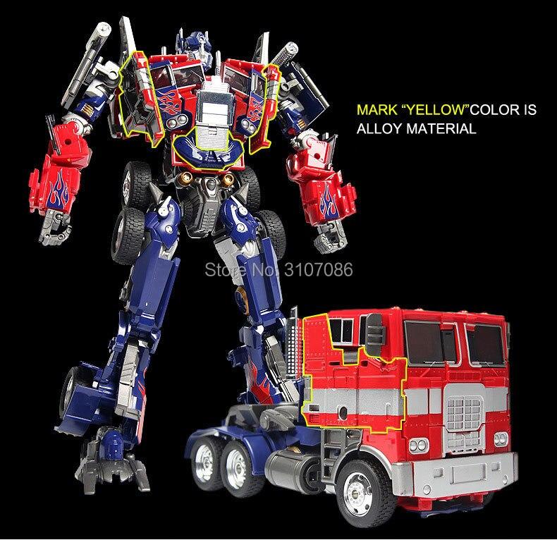 Transformation OP G1 Commander Alloy Movie MPP10 MP01 Film Oversize EVA MasterPiece Diecast Action Figure Robot