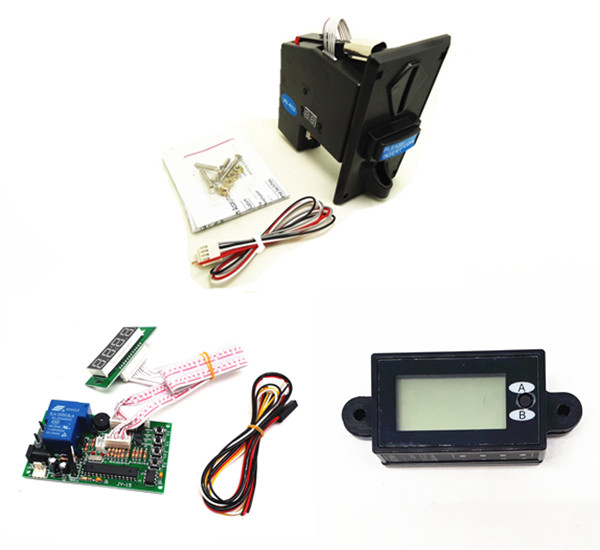 1 KIT of JY 92PX JY 15B JY 263 multi coin acceptor with timer board coin