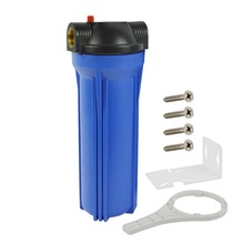 Standard 10-inch Blue Water Filter Housing/Cansiter - 3/4
