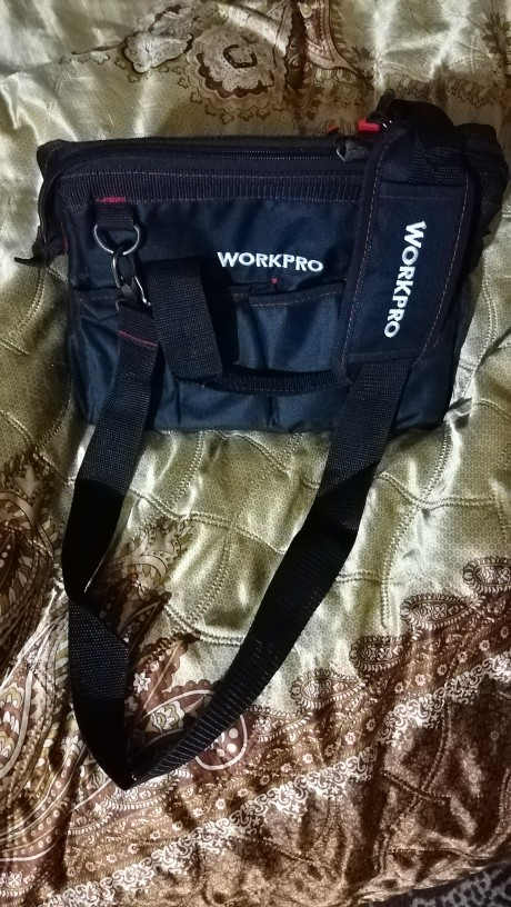 WORKPRO Waterproof Travel Bags Men Crossbody Bag Tool Bags Large Capacity Bag for Tools Hardware Free Shipping