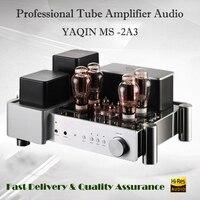 YAQIN MS 2A3 ламповый усилитель аудио Здравствуйте fi Интегрированный усилитель домашний вакуумный ламповый усилитель предусилитель ламповый у