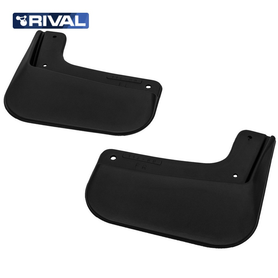 For Hyundai Creta 2016-2019 front mudguards 2 pcs/set Mud Flaps Splash Guard Rival 22310001 high quality 3pcs rear bumper protector tail tailgate trunk guard door sill scuff plate fit for hyundai creta ix25 2015 2016 2017