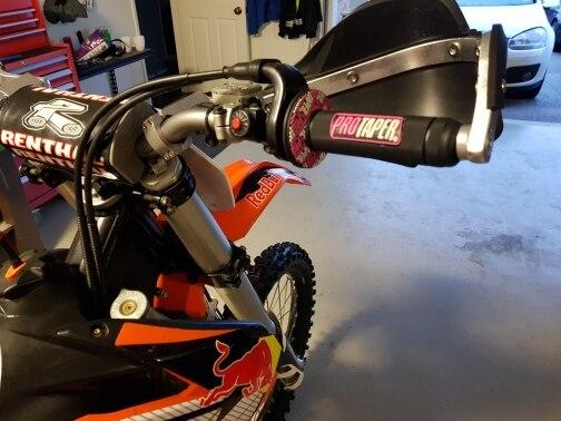 Motorrad Protaper Griffe Motocross Grip Lenker Dirt Pit Bike 7//8 Handlebar GUMMIgel-Dual Density MX Grips Color : Army Green