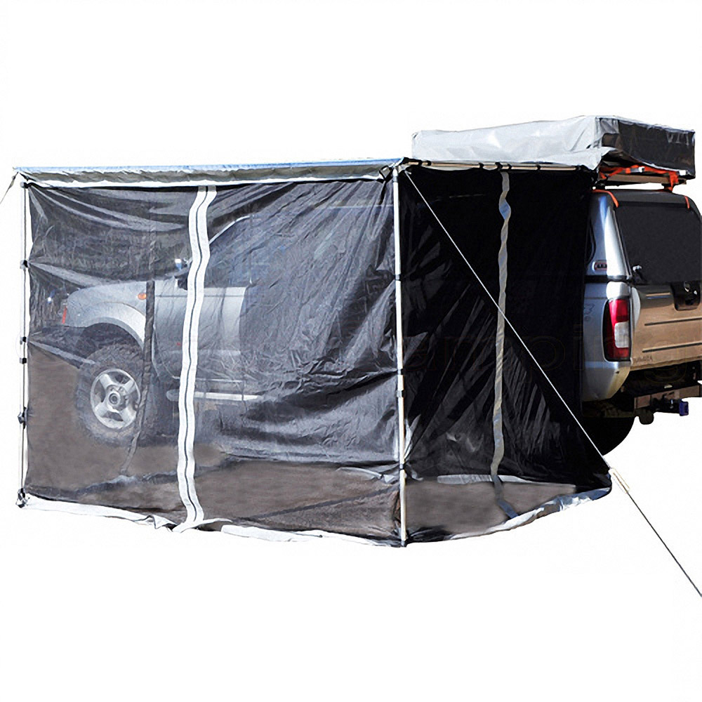 4Wd Awning Tent 2.5m x 2m awnings net for car 4wd mosquito mesh side outdoor