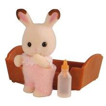 Набор Sylvanian Families Малыш шоколадный кролик