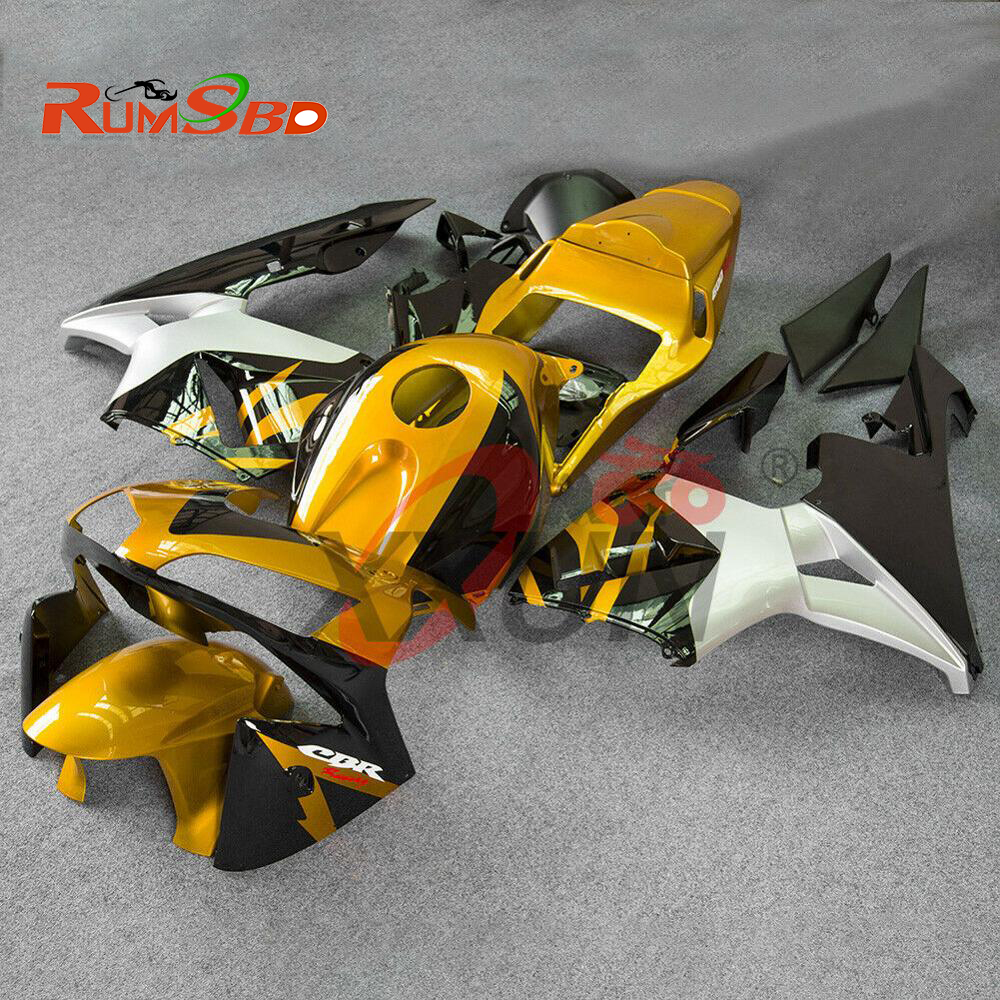 Carénage Injection pour Honda CBR600RR 2003 2004 Kit carrosserie complet CBR 600 RR 600RR F5 accessoires plastique or noir argent