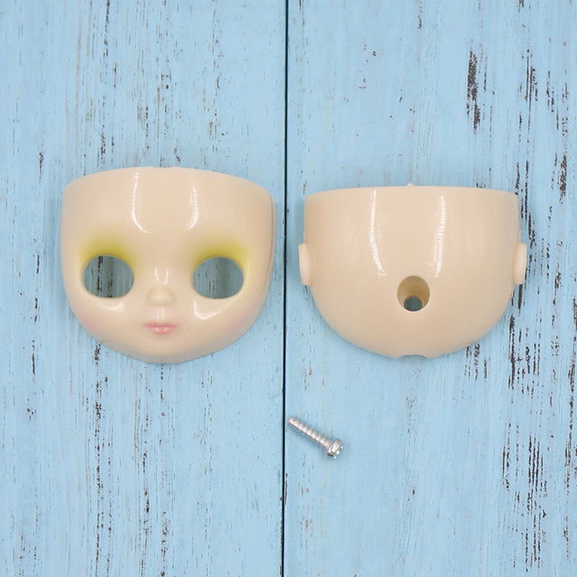 Mini Blyth doll Accessories body face plate eyes mechanism scalp for 10cm height doll DIY Change Toy Factory Blyth