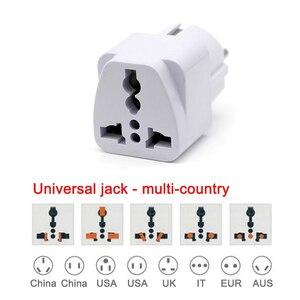 Image 5 - Europäische EU Stecker Adapter Japan China Amerikanischen Universal UK US AU Zu EU AC Travel Power Adapter Konverter Elektrische Ladegerät