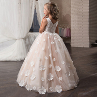 Christmas Flower Girl Dress Wedding Birthday Party Dresses For Girls Kids Prom Gowns Designs Little Lady