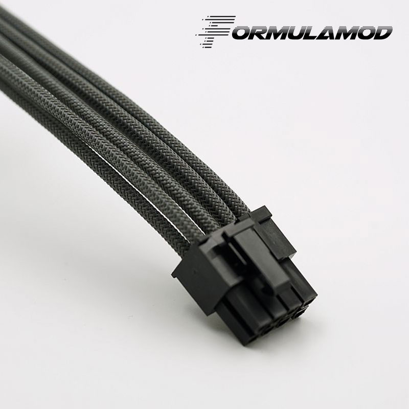 FormulaMod Fm-cpu 8P-A, ЦП 8Pin кабели расширения питания, материнская плата 18AWG 8Pin многоцветные соответствующие кабели расширения - Цвет лезвия: Gray