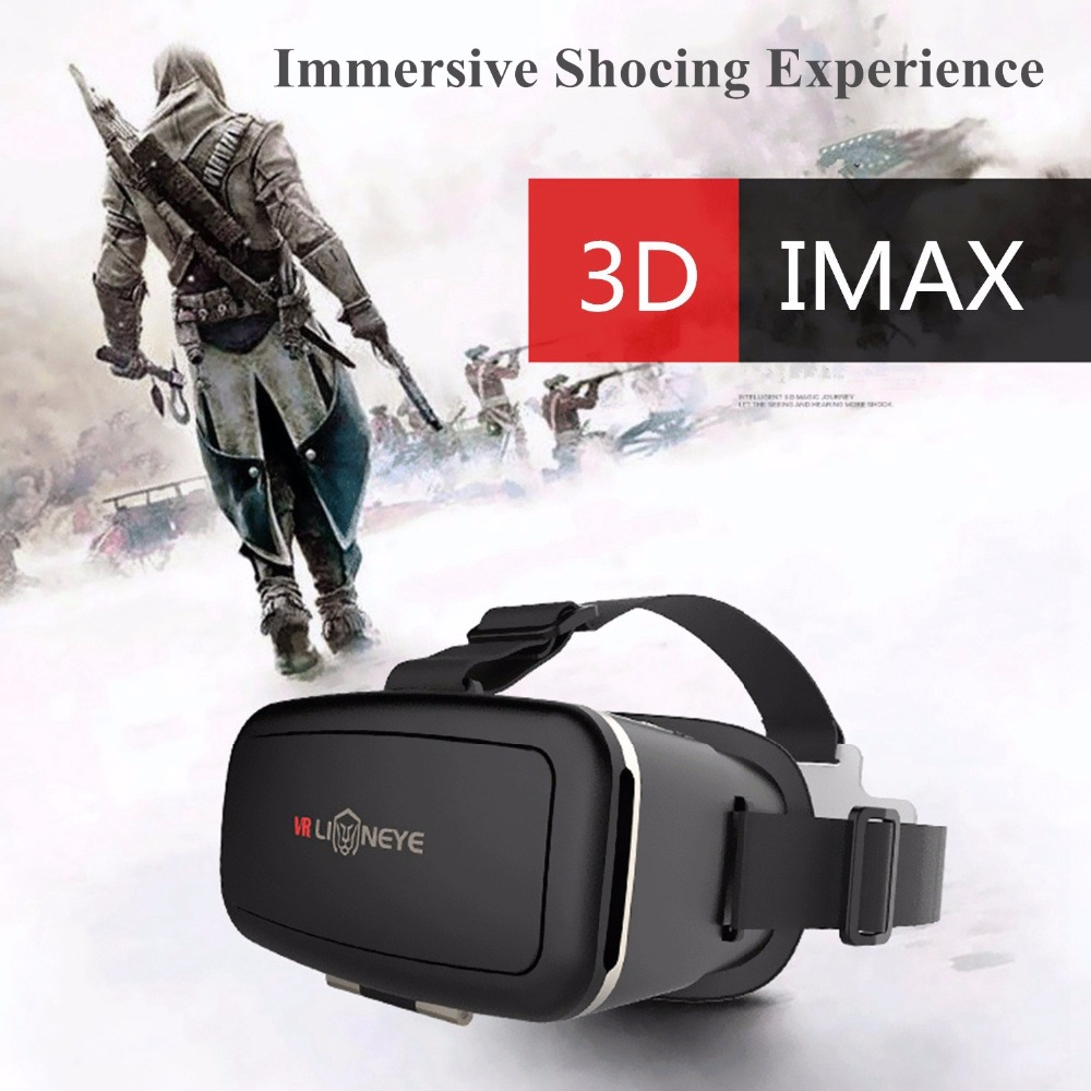 Virtual Reality Glasses 3D Glasses VR Headset Men Womens Glasses Virtual Viewer Eye Trave for Google Cardboard Smartphone ...