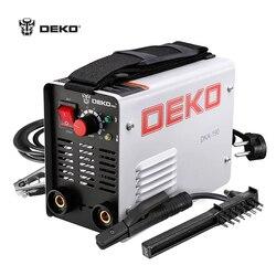 DEKO DKA-190 200A 4.1KVA IP21S Inverter Arc Electric Welding Machine 220V MMA Welder for Welding Working and Electric Working