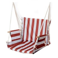 Fashion Canvas Hammock Adult Indoor Swing Cradle Outdoor Handing Chair Children Hammock Tourism with Cushion Bearing 100KG