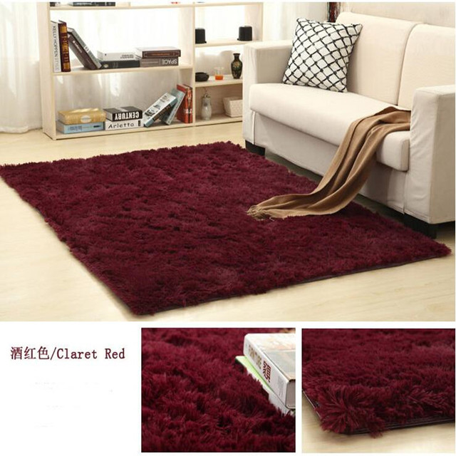 Soft Shaggy Modern Bedroom Rugs Faux Fur Area Rugs Slip Resistant Floor  Fluffy Mats For Parlor Living Room Bedroom Home Supplies